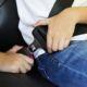 Lesión por no llevar el cinturón de seguridad